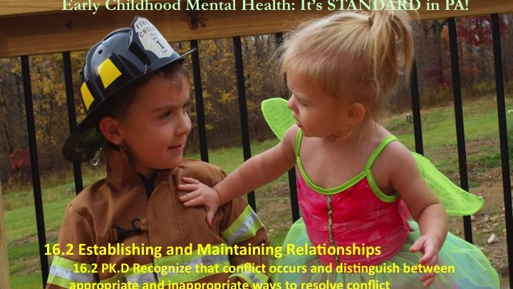Early Childhood Mental Health: It's STANDARD in PA!